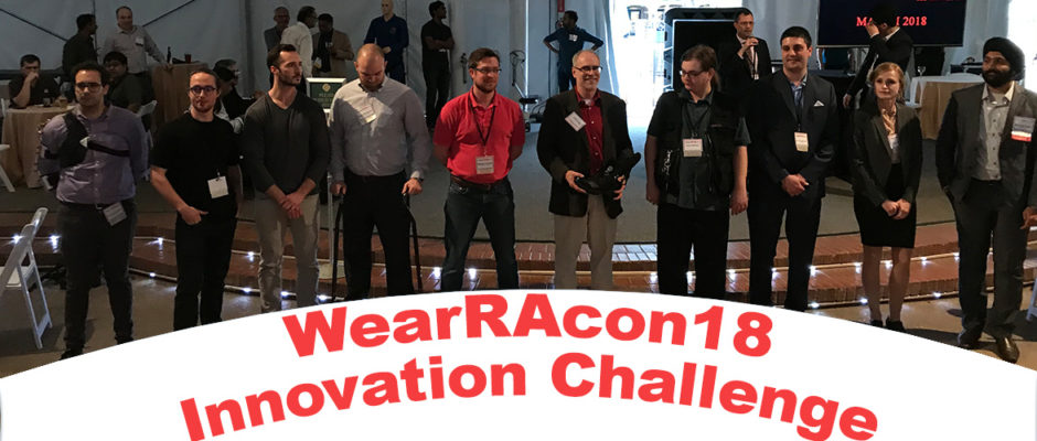 WearRAcon18 Innovation Challenge