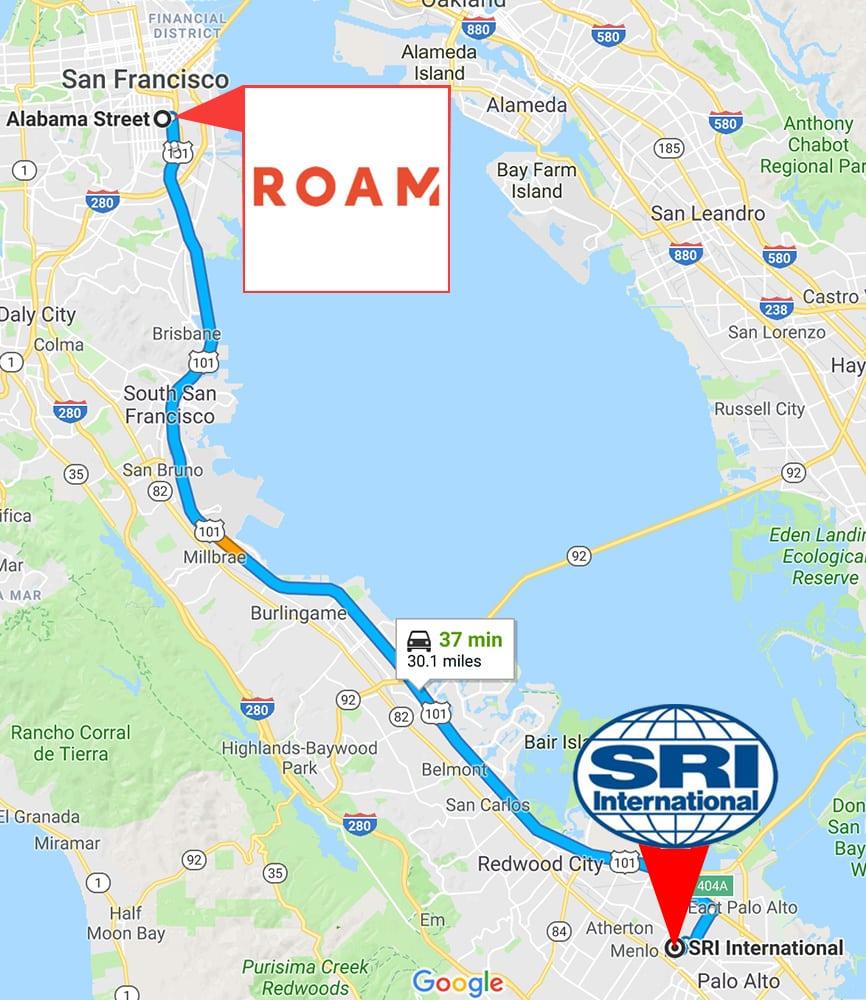 Roam Robotics to SRI
