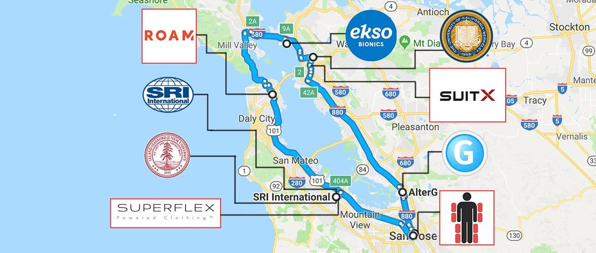 San Francisco Bay Area Becoming Hub for Exoskeleton and Exosuit Technology