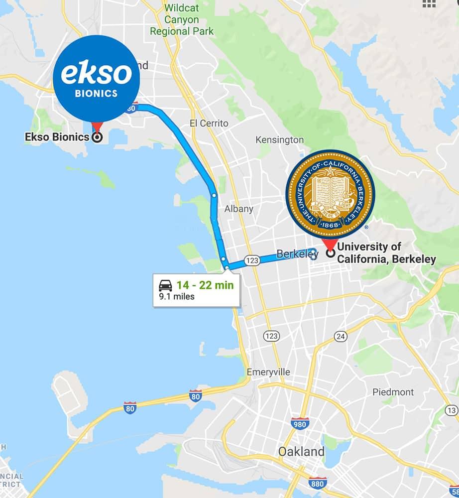 UC Berkeley to Ekso Bionics