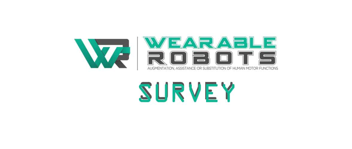 Wearable Robotics.EU Survey