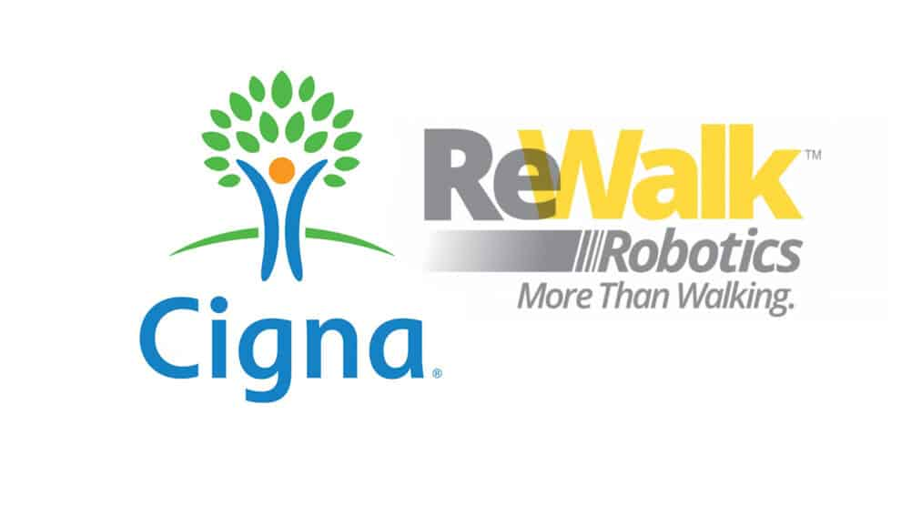 ReWalk Announces Cigna as First Major U.S. Insurance Provider to Change Medical Exoskeleton Coverage Policy