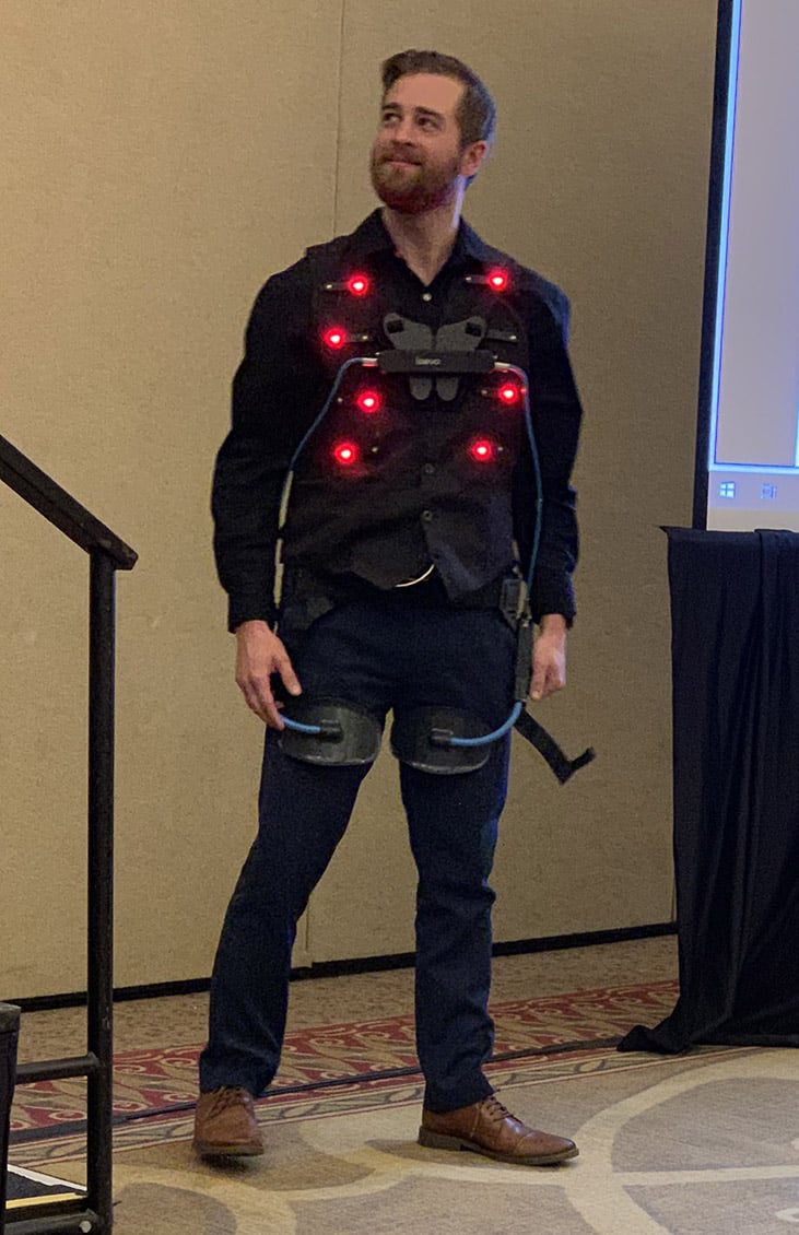 WearRAcon19 Blinking after executing an improper lift