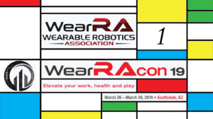 Wearable Robotics Association Conference 2019 - WearRAcon19 - Day 1