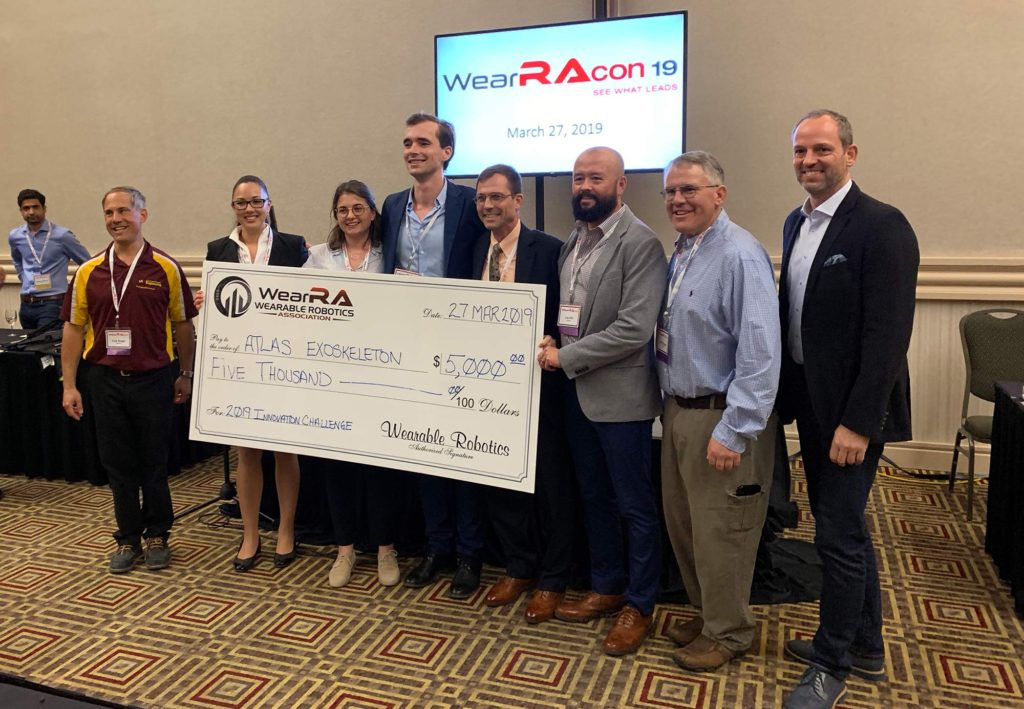 Atlas by Japet wins WearRAcon19 Innovation Challenge