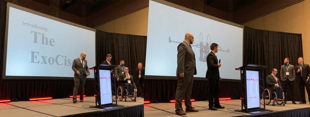 The ExoCiser WearRAcon19 Innovation Challenge