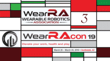 WearRAcon19 Day 3 Wearable Robotics Association Recap