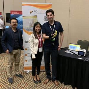 Dr. Yap Hong Kai and Jane Wang, Roceso Technologies at WearRAcon19