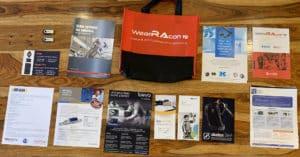 WearRAcon19 Brochures