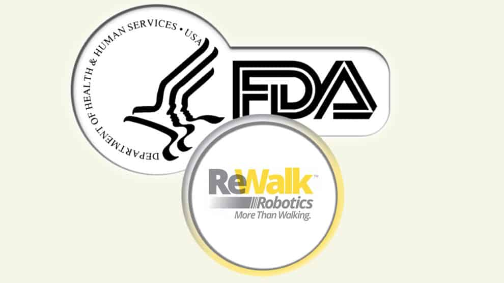 ReStore Exo-Suit by ReWalk Robotics Cleared by FDA for Sale