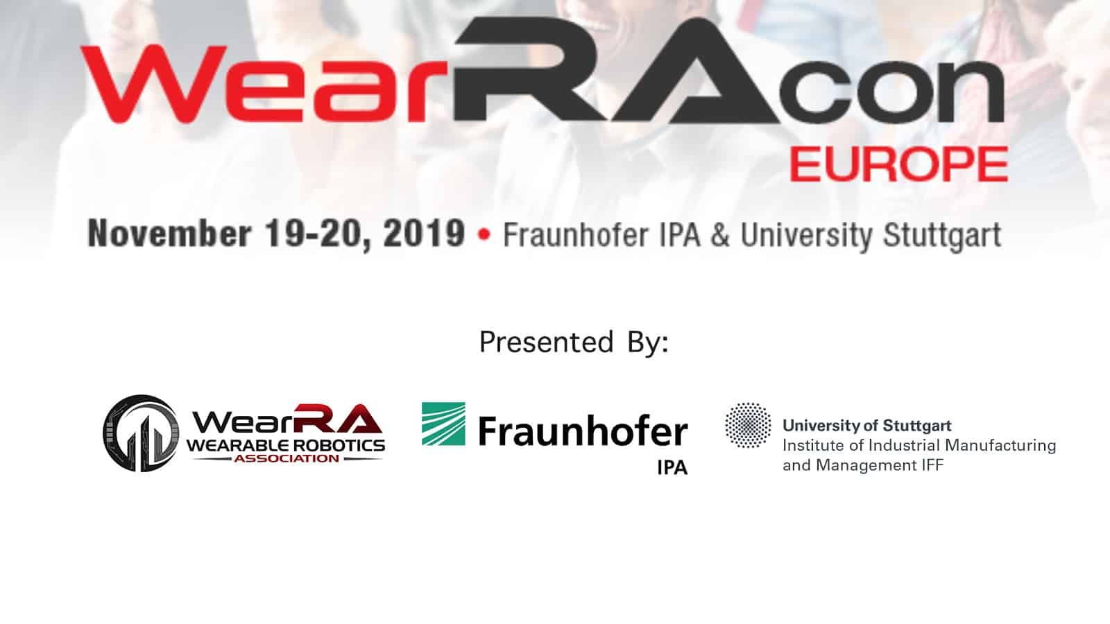 WearRAcon Europe 19