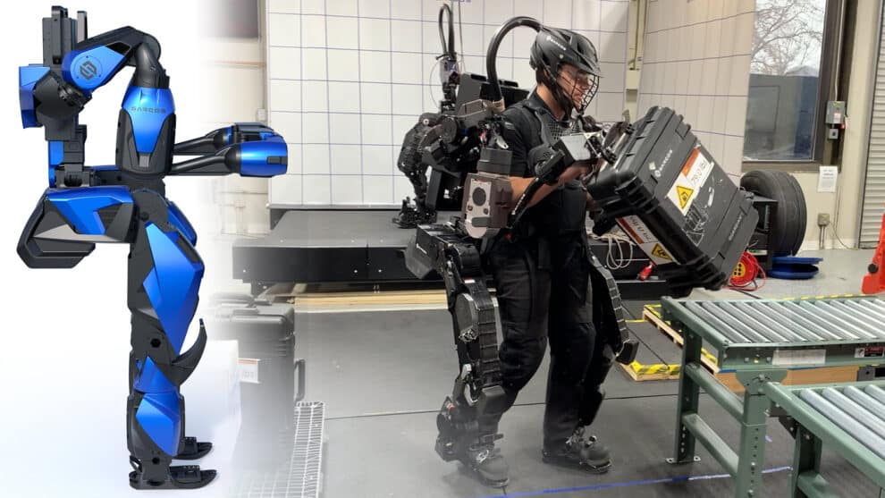 Guardian XO Alpha: Up Close and Personal with the Sarcos Robotics Full-Body Powered Exoskeleton
