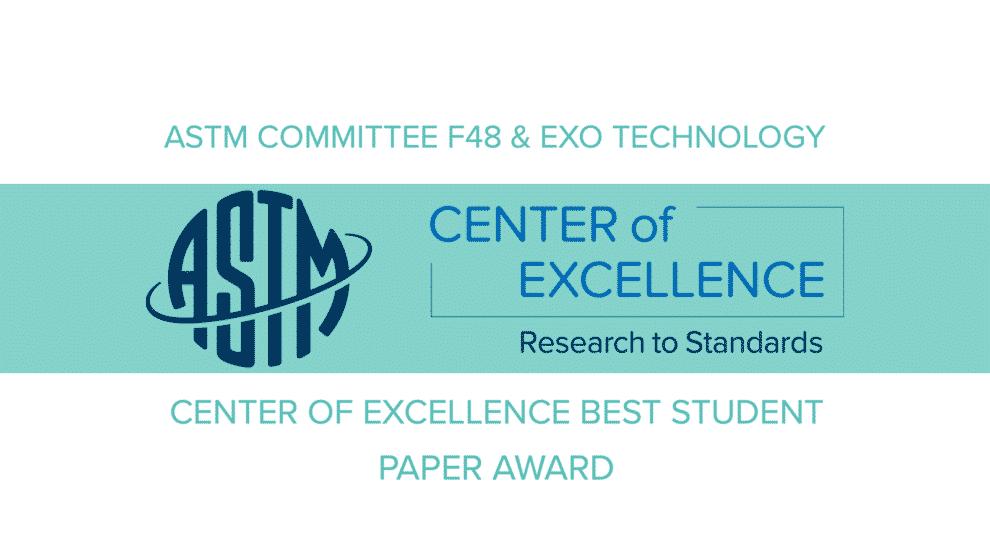 ASTM ET CoE BEST STUDENT PAPER AWARD