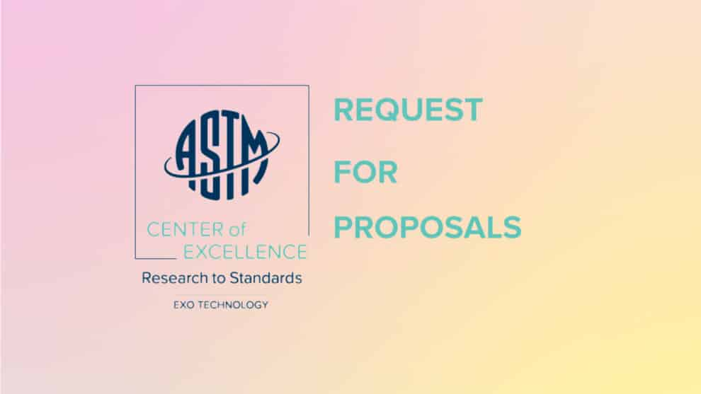 ASTM ET CoE Launches Research to Standards Funding Round