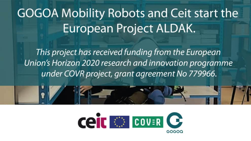 ATEX Certification Of Active Exoskeletons- GOGOA and CEIT Start the European ALDAK Project Under COVR
