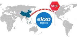 Ekso Bionics Will Not Continue Joint Venture with China