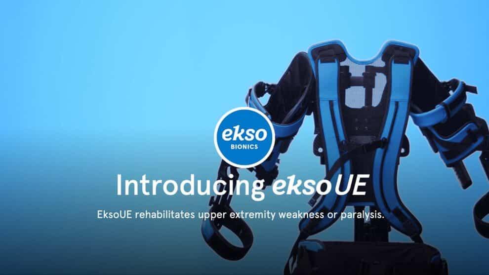 New Video of the EksoUE Passive Exoskeleton Vest for Physical Rehabilitation