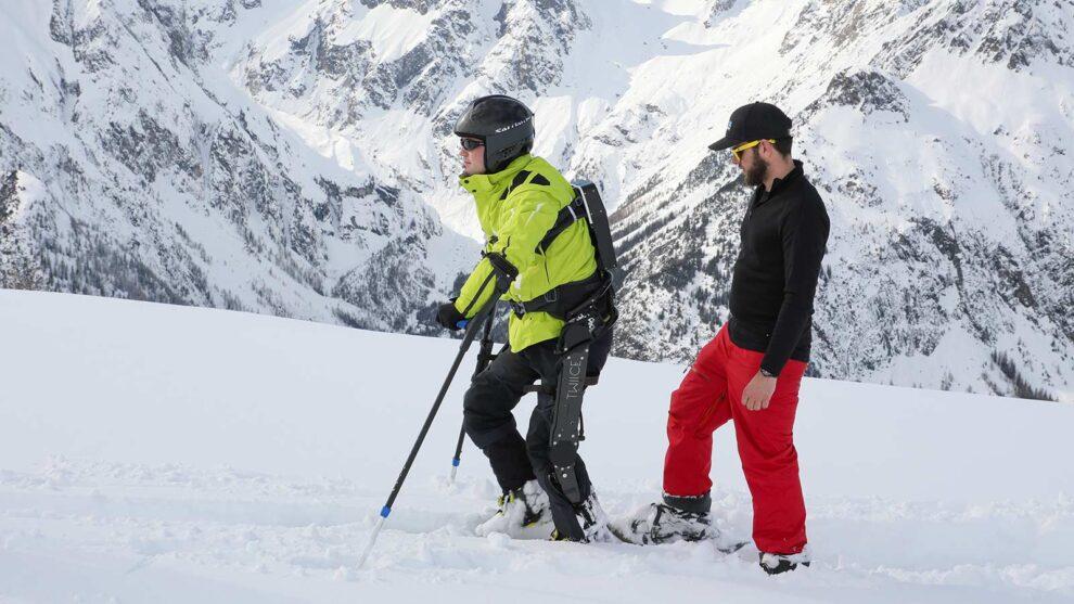 Powered Exoskeleton To Enable Individuals With SCI To Go Ski-Touring