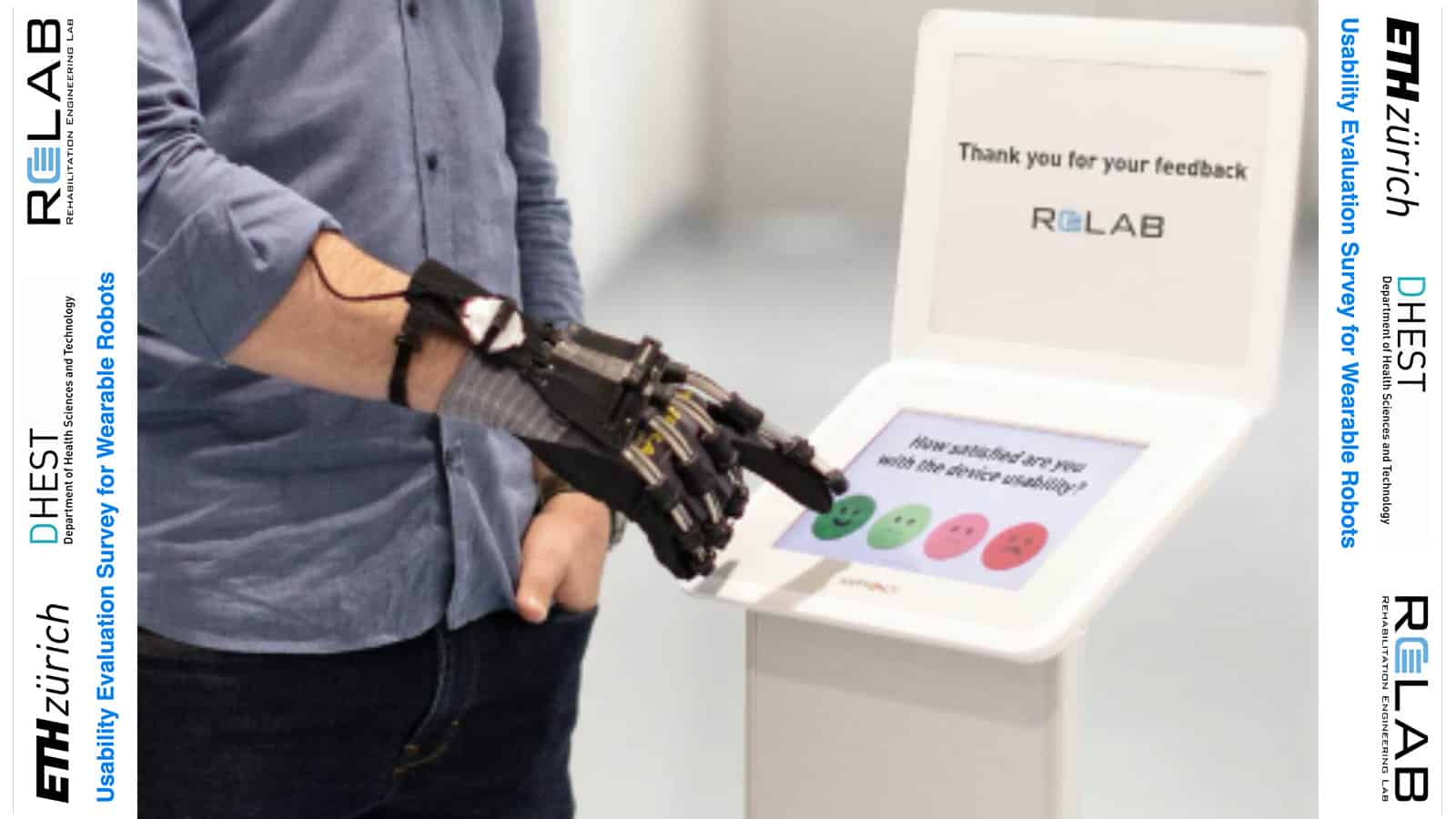 How do you evaluate the usability of wearable robots