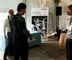 Paexo Shoulder Prototype at WearRAcon18