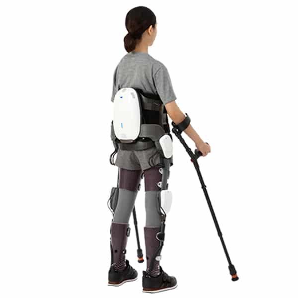 Angel Suit back side view Exoskeleton Catalog
