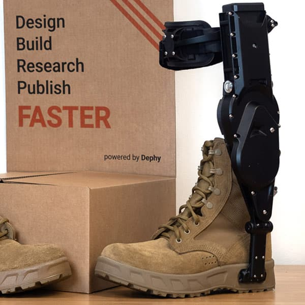 Dephy ExoBoot 2021 Exoskeleton Catalog 600