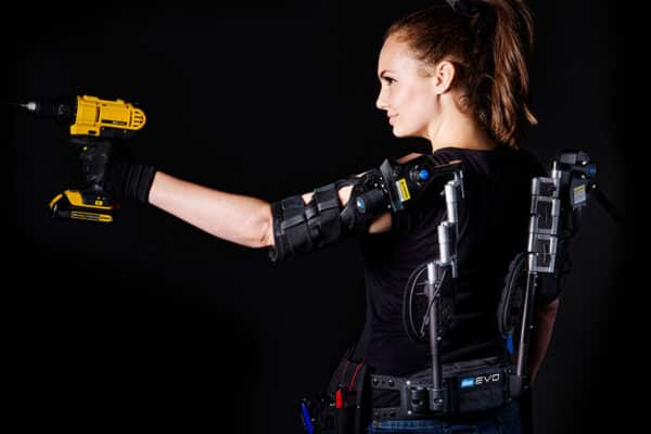 EVO Worker back-view Exoskeleton Catalog