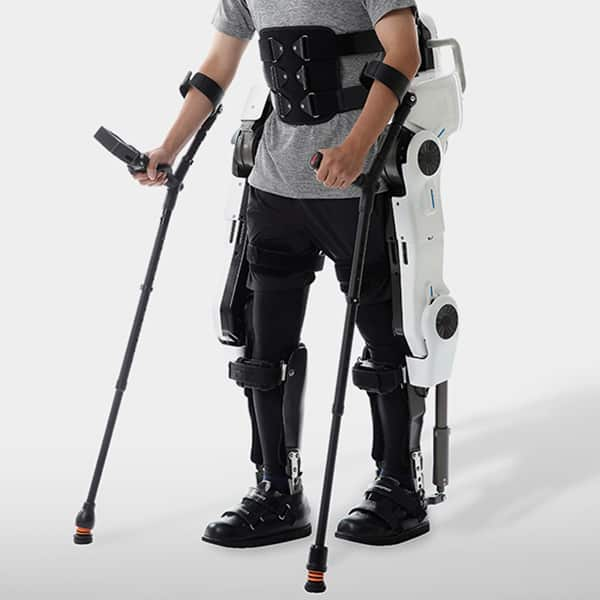 Walk-On Suit by Angel Robotics Front-Side Exoskeleton