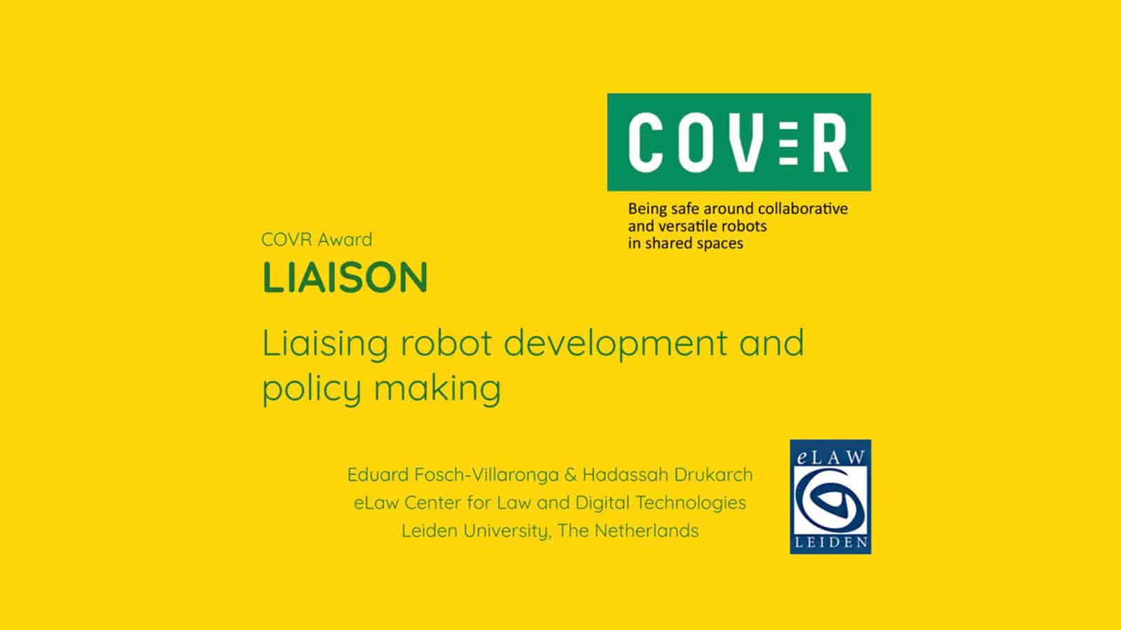 COVER Seeks Feedback on Exoskeleton and Rehabilitation Robotics Standards