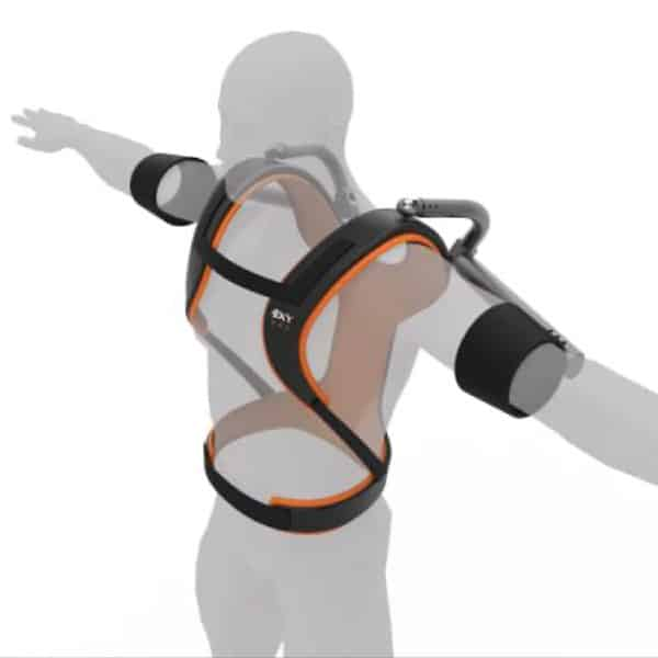 Exy ONE Front-Side View Exoskeleton Catalog 600