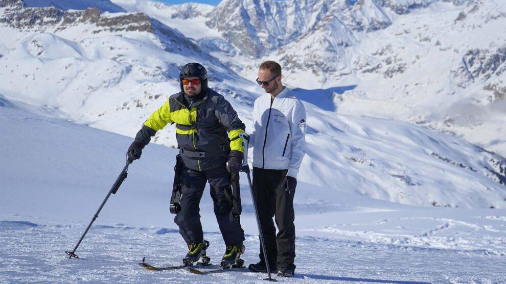 WIITE the Powered Exoskeleton For Ski-Touring by TWIICE