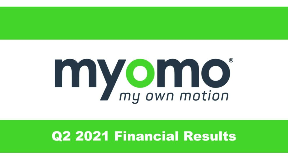Myomo Q2 2021 Financial Results Featured Image Exoskeleton