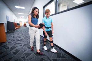 Biomotum SPARK pediatric medical exoskeleton 2021
