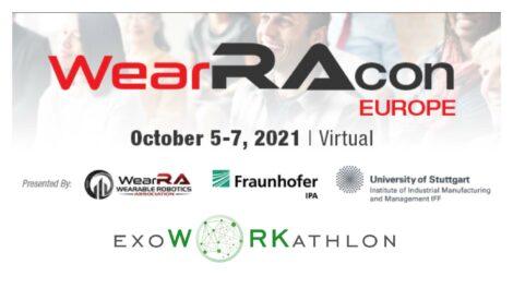 ExoWorkAthlon and WearRAcon Europe 2021