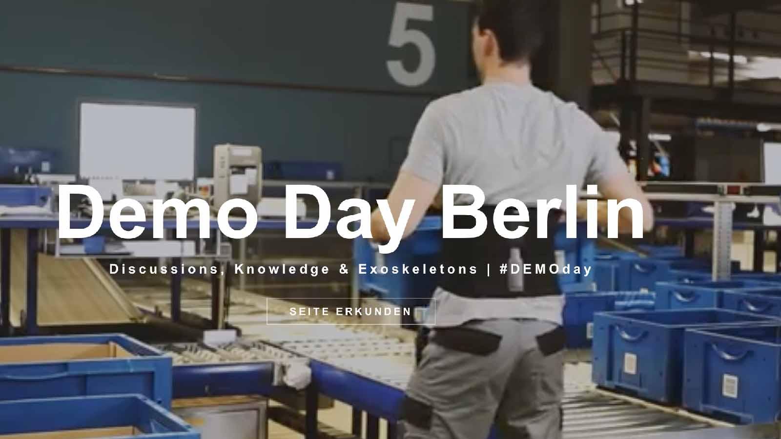 Ottobock Paexo Demo Day Berlin Sept 2021