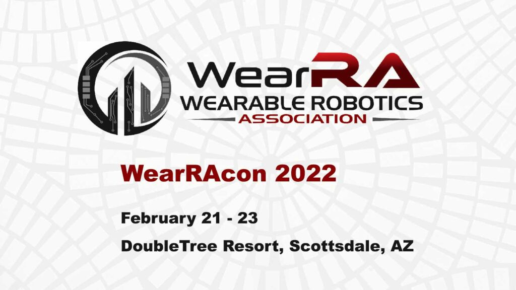 WearRAcon 2022 Save the Date